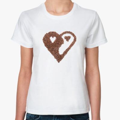 Классическая футболка coffee