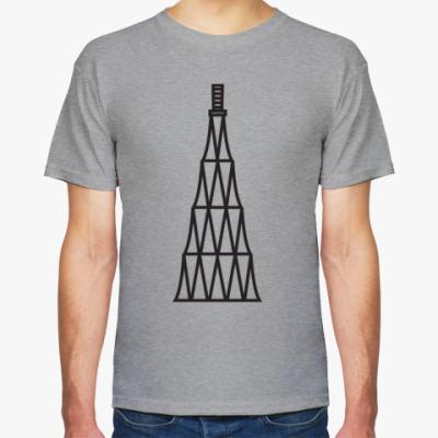Футболка Мужская футболка c Шуховской башней
