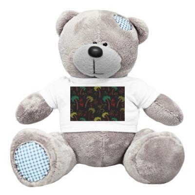Плюшевый мишка Тедди Пальмы
