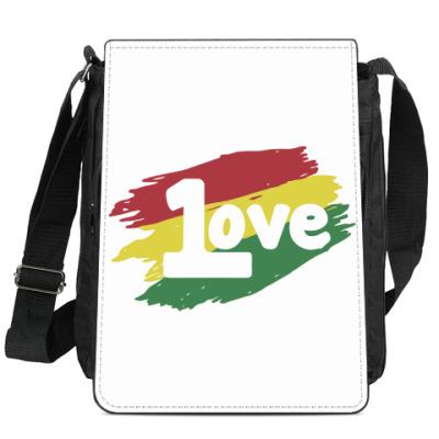 Сумка-планшет 1 Love