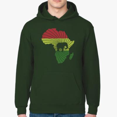 Толстовка худи Африканский слон