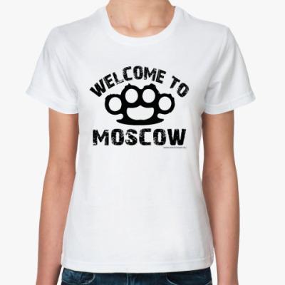 Классическая футболка  футболка WELCOME MSC