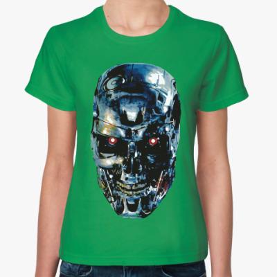 Женская футболка Терминатор Т-800