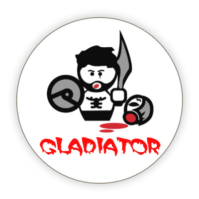 Костер (подставка под кружку) Гладиатор