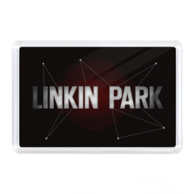 Магнит Linkin park, lp,
