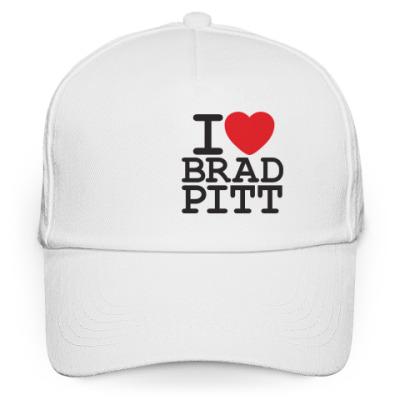 Кепка бейсболка Я люблю Бреда Питта