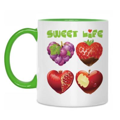 Кружка Sweet life - Сладкая жизнь