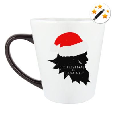 Кружка-хамелеон Christmas is coming