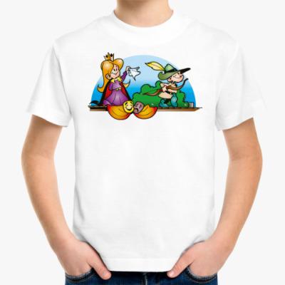 Детская футболка 'Робин Гуд'