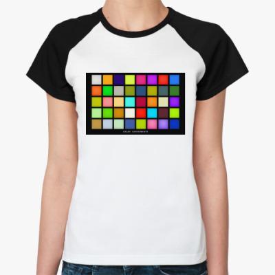 Женская футболка реглан Livivn' Colours