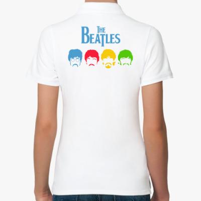 Женская рубашка поло Beatles