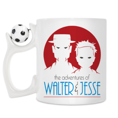 Кружка Уолтер и Джесси