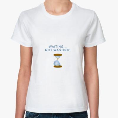 Классическая футболка Для беременных