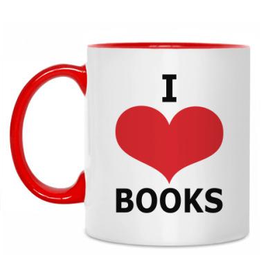 Кружка I Love Books