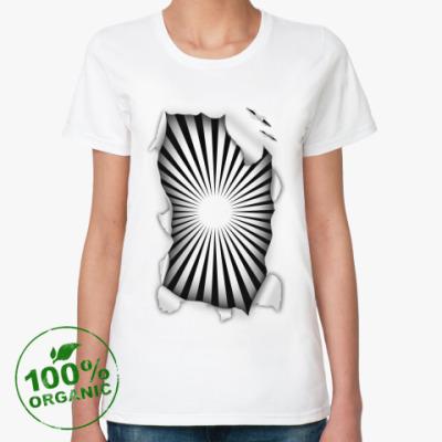 Женская футболка из органик-хлопка Гипноз