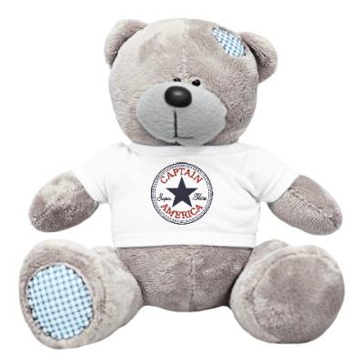 Плюшевый мишка Тедди Супер герой