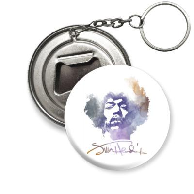 Брелок-открывашка  Jimi Hendrix - Джими Хендрикс