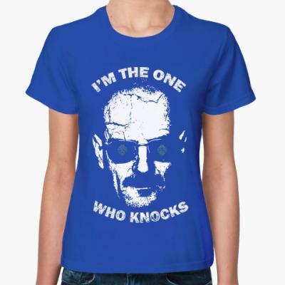 Женская футболка Я один кто знает