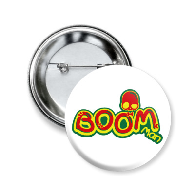 Значок 50мм Boom Man