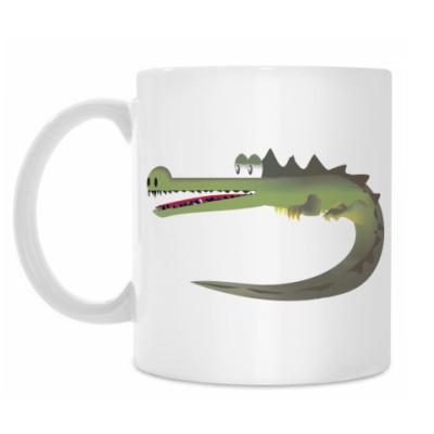 Кружка Крокодильчик :)