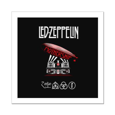 Наклейка (стикер) Led Zeppelin