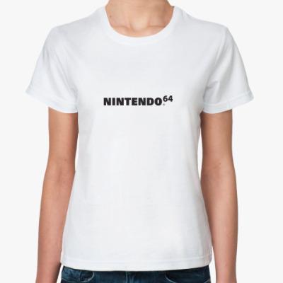 Классическая футболка Nintendo 64