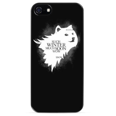Чехол для iPhone Doge Stark