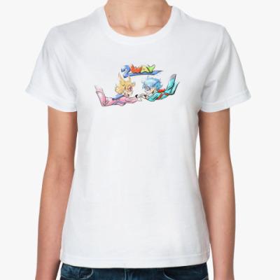 Классическая футболка 2-way