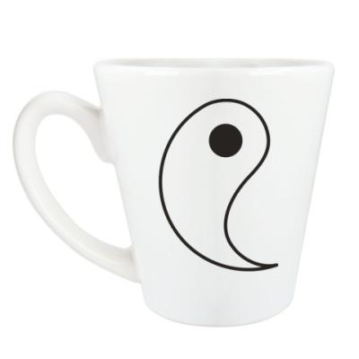 Чашка Латте Ян.