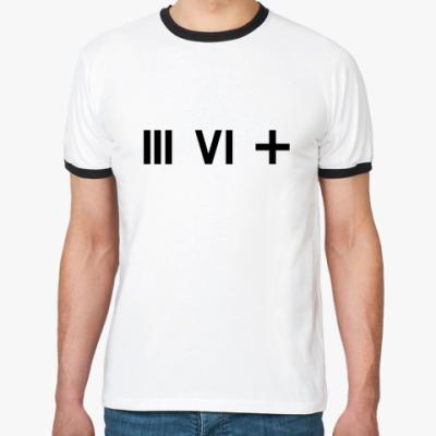 Футболка Ringer-T   (III VI +)