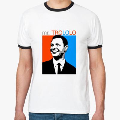 Футболка Ringer-T mr. TROLOLO