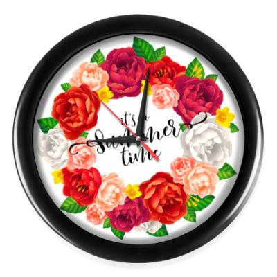 Настенные часы It's a Summer time!