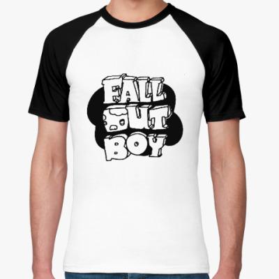 Футболка реглан Fall Out Boy
