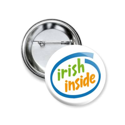 Значок 37мм Irish Inside