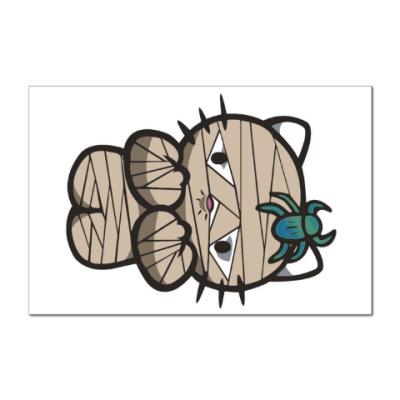 Наклейка (стикер) Китти Мумия