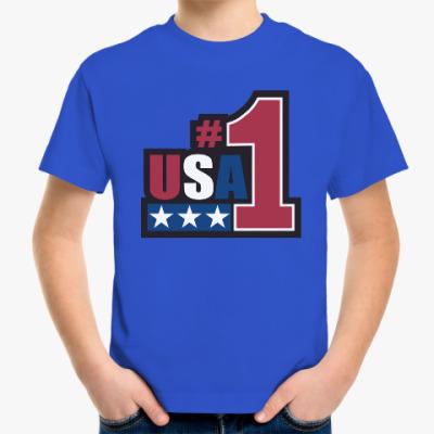Детская футболка USA 1