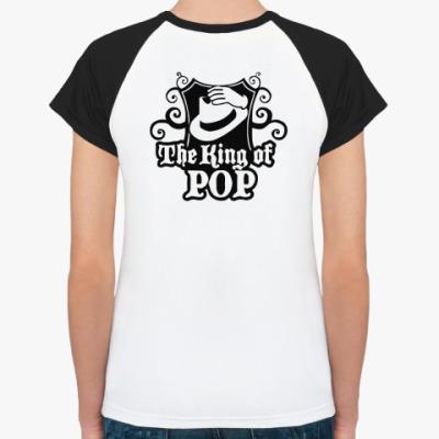Женская футболка реглан MJ cylindre