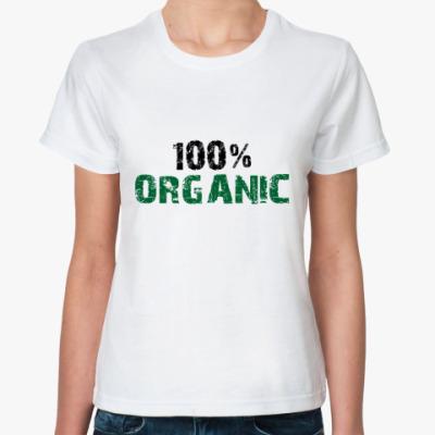 Классическая футболка 100% ORGANIC