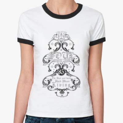 Женская футболка Ringer-T Soul dream
