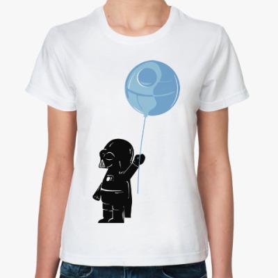 Классическая футболка Дарт Вейдер (Звезда Смерти)