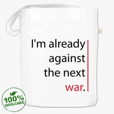 Сумка  'Against the next war'