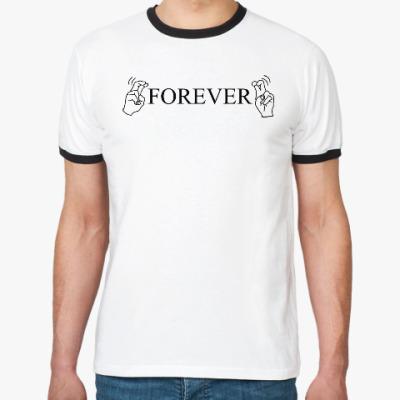 Футболка Ringer-T 'Forever'