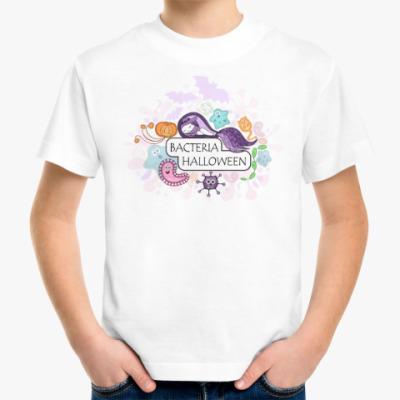 Детская футболка Бактерия 'Хеллоуин'