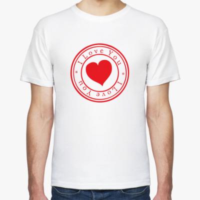 Футболка Печать любви