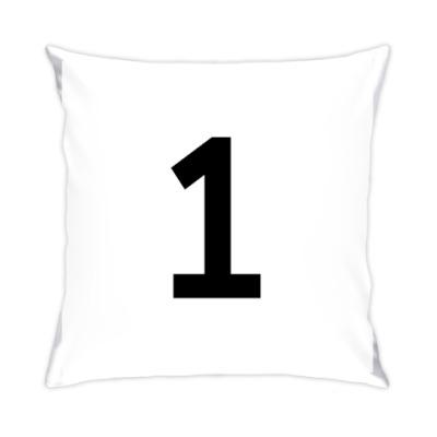 Подушка Цифра 1