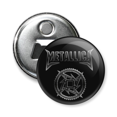 Магнит-открывашка Metallica