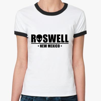 Женская футболка Ringer-T Roswell