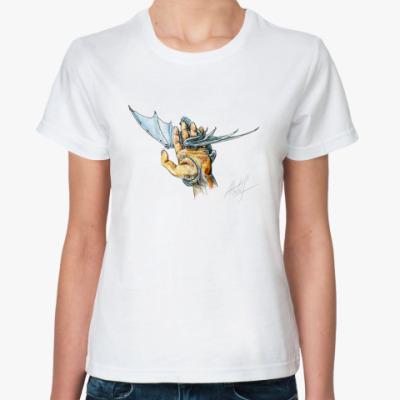Классическая футболка  Линия жизни