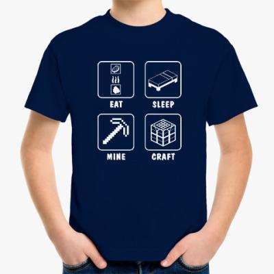 Детская футболка Minecraft