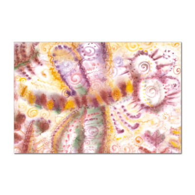 Наклейка (стикер) Стрекоза из м/ф Винни-Пух
